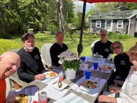 Bonafide Face to Face Sangha lunch