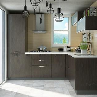 L shaped Horizon Oak Modular Kitchen.jpg
