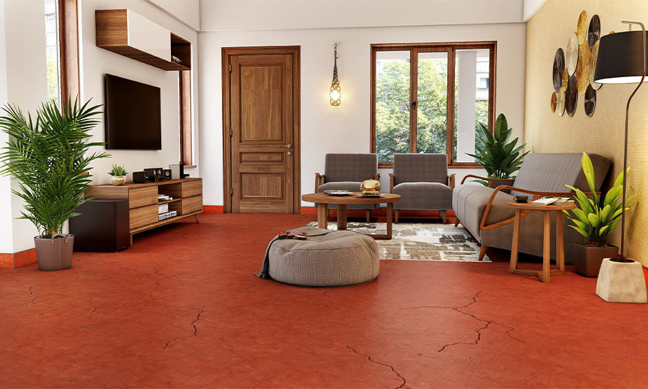 Red Oxide Flooring