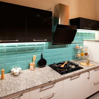 Pop Straight Modular Kitchen Design