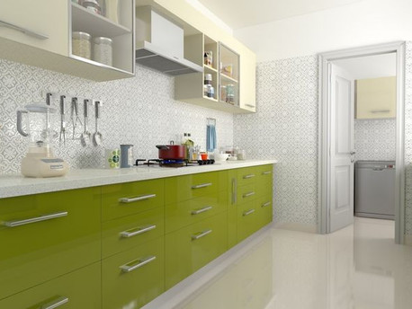 Get a feel for our range of kitchen doors, colours and materials for Indian Modular kitchen ideas