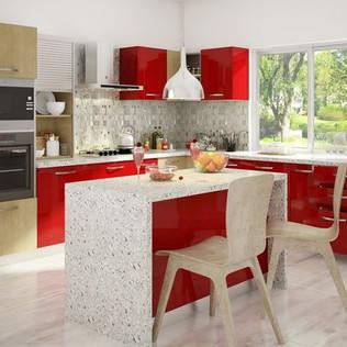 Zane L-shape Kitchen