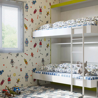 Space Saving Furniture Bunk Bed For Kids