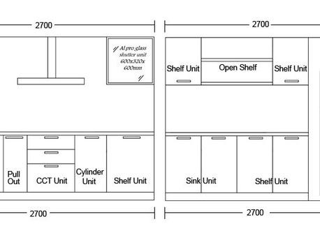 Cost of Modular Kitchen in Noida