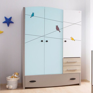 Gloosy Modular Wardrobe Design for Your Bedroom