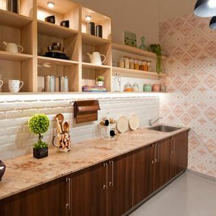 Modern Farmhouse Straight Modular Kitchen