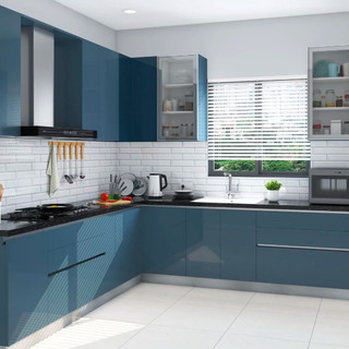 Modular Kitchen Wardrobe | Wooden Kitchen Cabinet Designs in Noida
