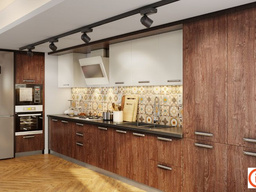 13+ Modern Kitchens in Wood Finish 2021