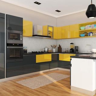 U-Shaped Modular Kitchen Designs