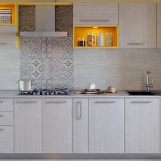 Marigold Parallel Modular Kitchen Design