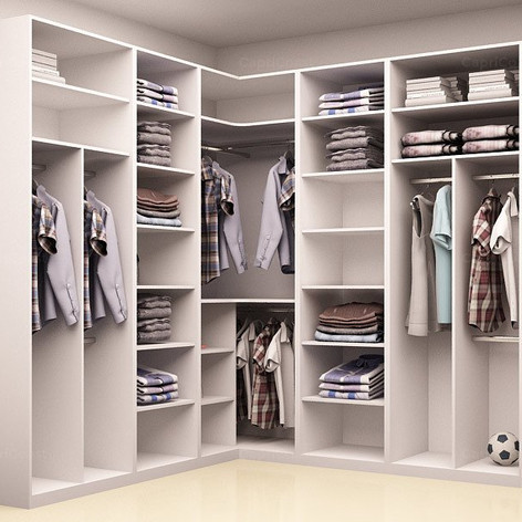 Flores L-Shaped Wardrobe Designs Europea