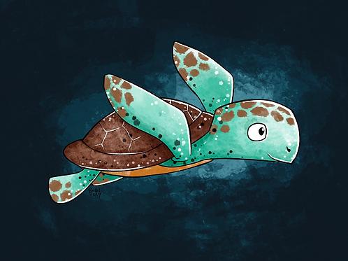 Sea Turtle - Print