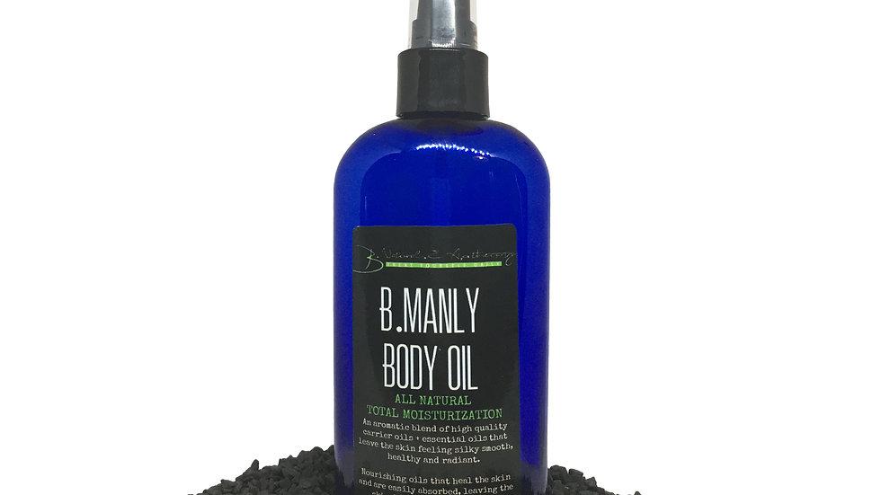 b.manly Body Oil