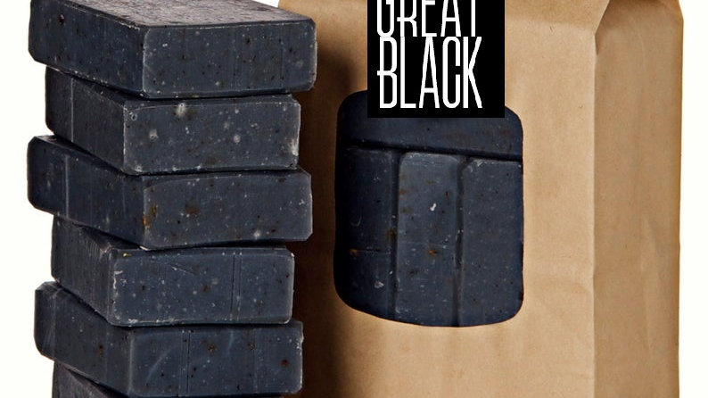 The Great Black Box of Soap (6 bars)