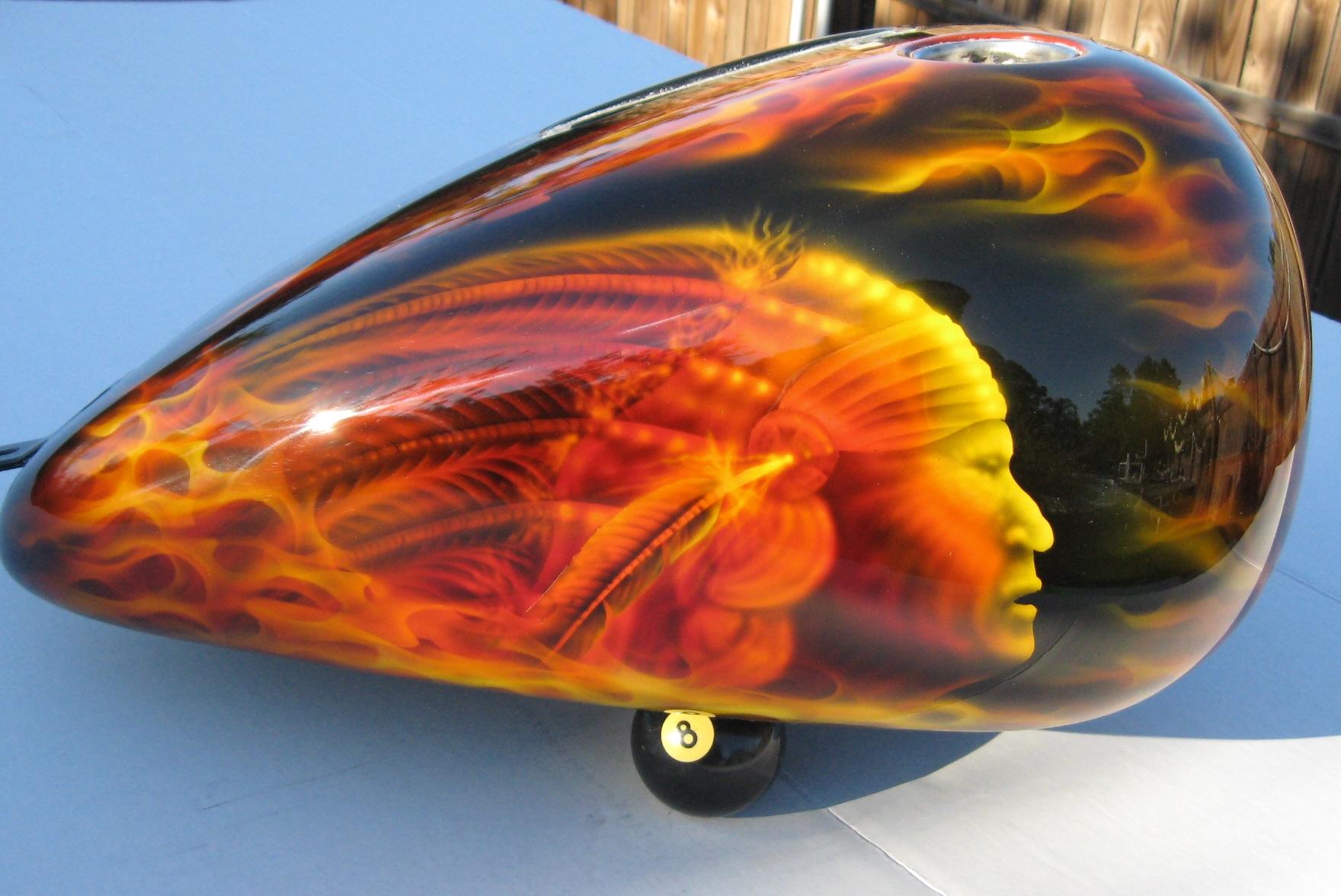 Harley-Davidson-Fantasy-True-Flame-Dragon-Skull-oil-cover