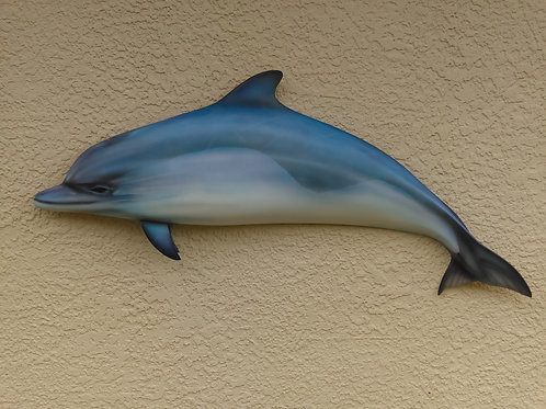 36''inch Dolphin Hand airbrushed By Artist Greg Cassell