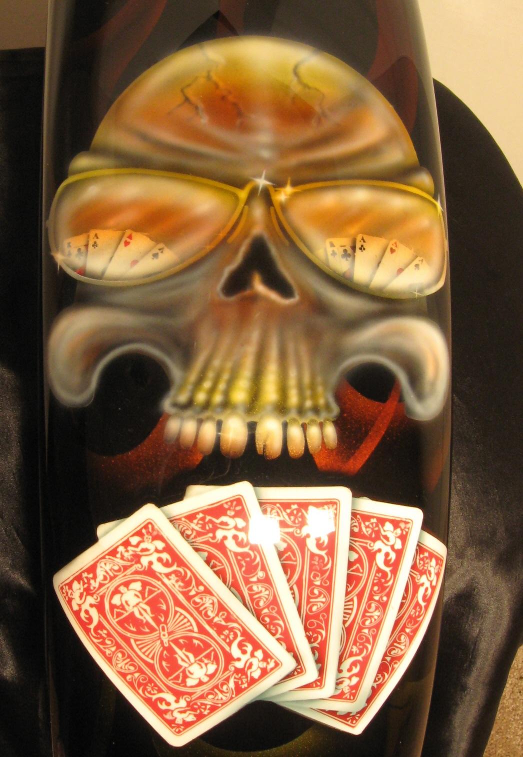 Harley-Davidson-Cards-Skull-Fender