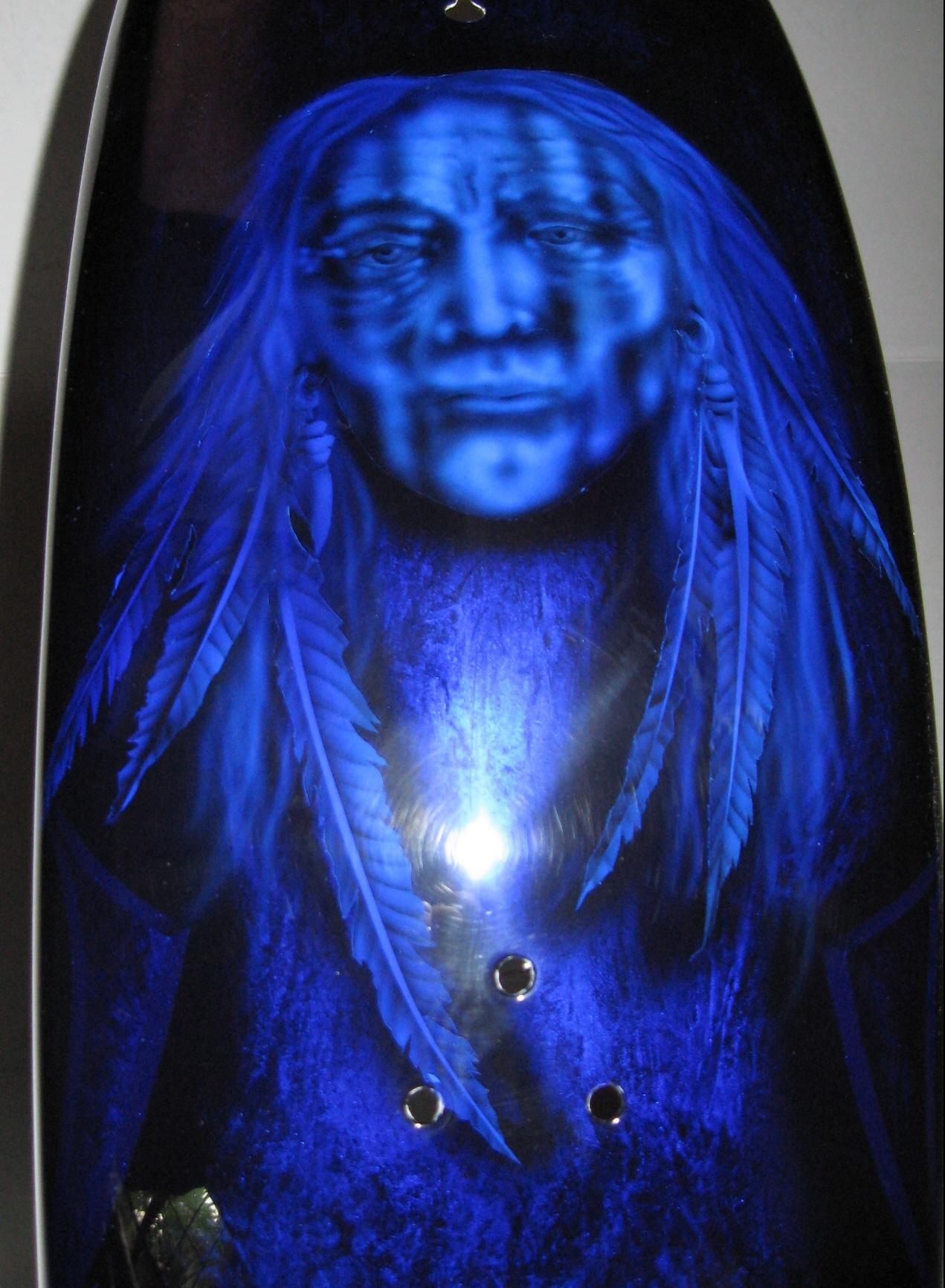 Harley-Davidson-Kandy-Blue-Native-American-Indian-Fender