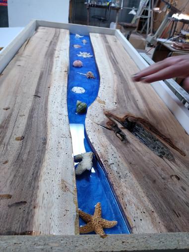Earwood Inlay Table