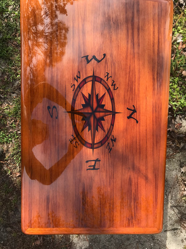 Table Compass Rose