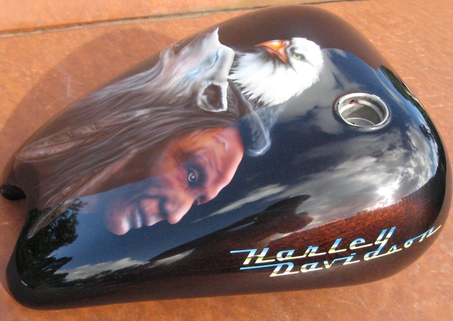 Harley-Davidson-Native-American-Gas-Tank-Full-2
