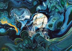 Stormy Seas (Detail)