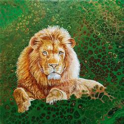 Leafy Lion