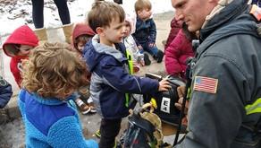 Community Helpers Visit Tiny Hearts