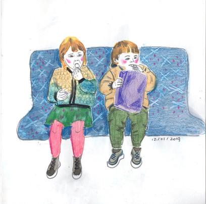 Kids in the Tube