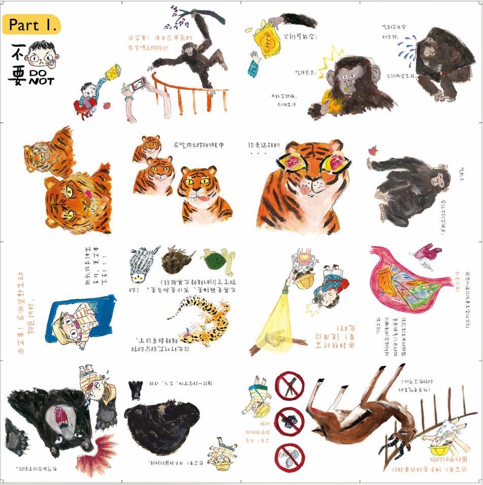 hand book插画册-folding1