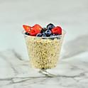 Overnight Oatmeal w/ Fresh Berries