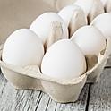 White Feather Farms- 1 Dozen Eggs