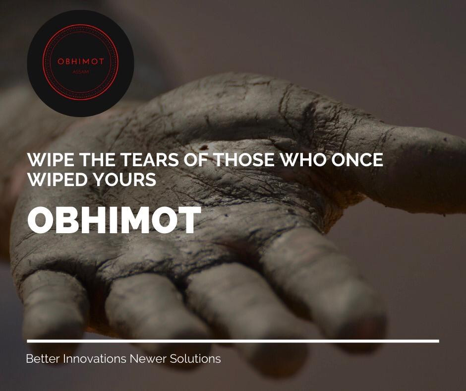 WIPE THE TEARS OF THOSE WHO ONCE WIPED YOURS