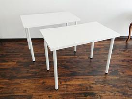 合板ホワイトテーブル