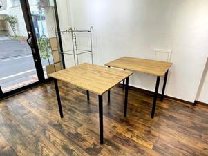 天然木テーブル(ねじ脚式)