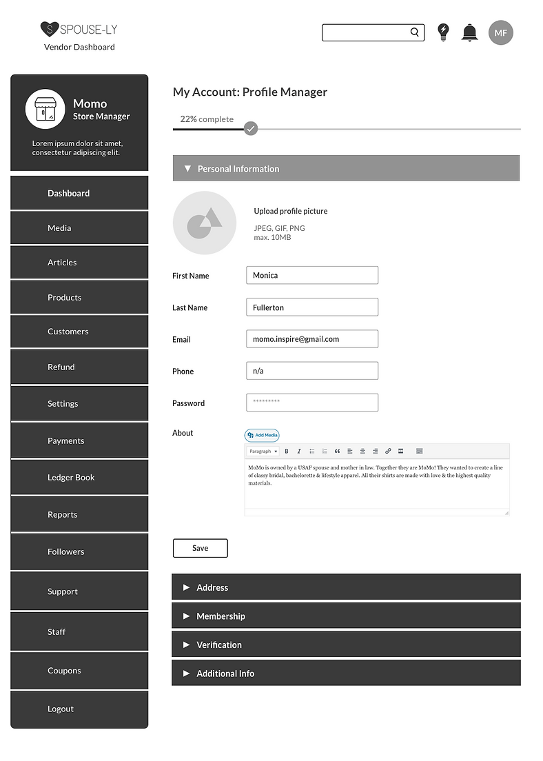 Profile Manager - Personal Information.p