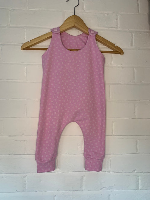 Pink With Stars Romper