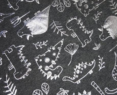Dino & Plants Gathered skirt