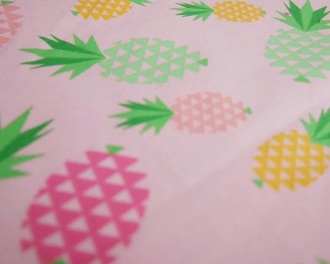 Pineapple gathered Dress