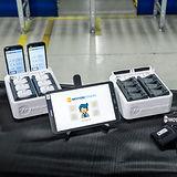 Motion-Mining Technologie Hardware zur Messung von automatischen Prozessen im Bereich Logistik, Produktion und Health Care.