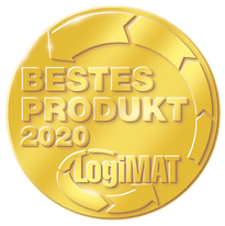 Best Product of the Year 2020 LogiMAT - Award for process optimisation efficiency and ergonomics