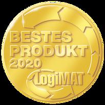 Bestes Produkt des Jahres  2020 LogiMAT - Auszeichnung zur Prozessoptimierung Effizienz und Ergonomie