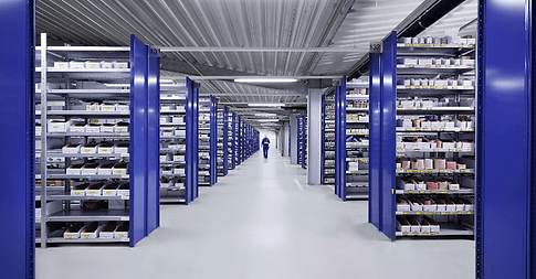 Ein Use-Case in den Lagerhallen bei der Firma Blumenbecker. Prozessoptimierung mit Motion-Mining.
