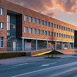 Außenansicht: Firmengebäude von den MotionMiners. Wir machen Ihre Prozesse effizienter, anonymer und ergonomischer.