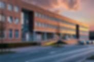 Außen Firmengebäude von MotionMiners. Wir machen Ihre Prozesse effizienter, anonymer und ergonomischer. Exterior company building of MotionMiners. We make your processes more efficient, anonymous and ergonomic.