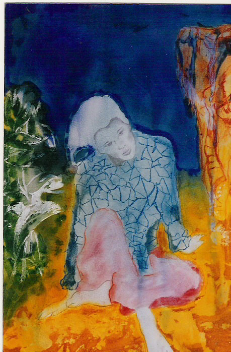1995-ARLEQUÍN-3-papel 100x70,acrílico..J