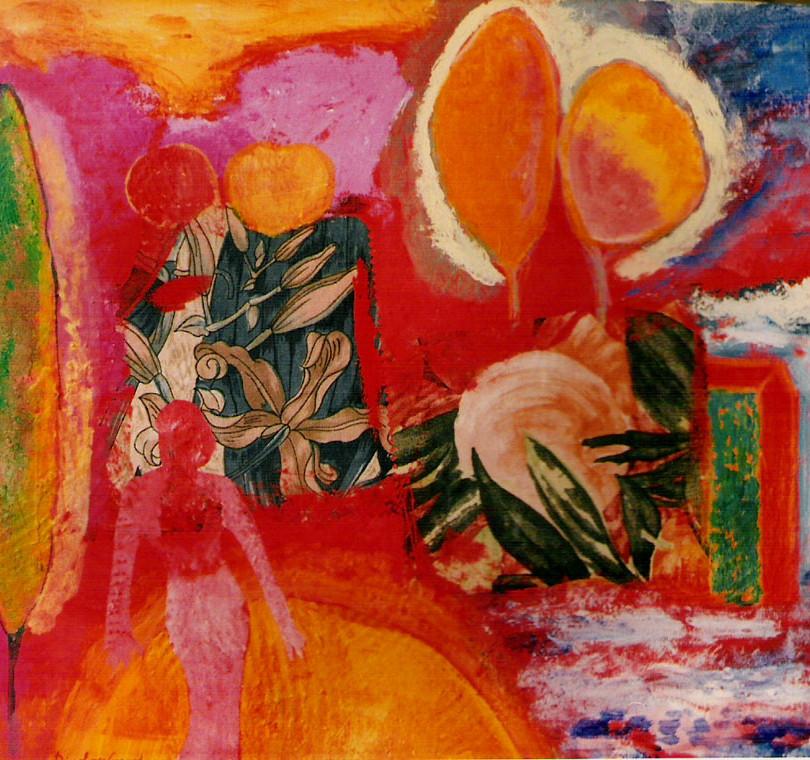 2001-SUEÑO DE LA CASA.65x54,tela.mixta..