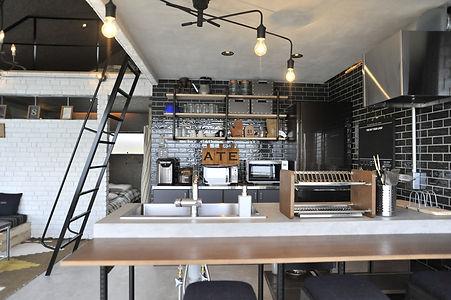 ブルックリンスタイル キッチン