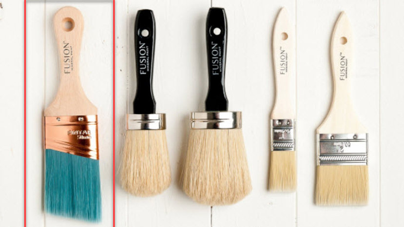 """2"""" Synthetic Angled Brush"""