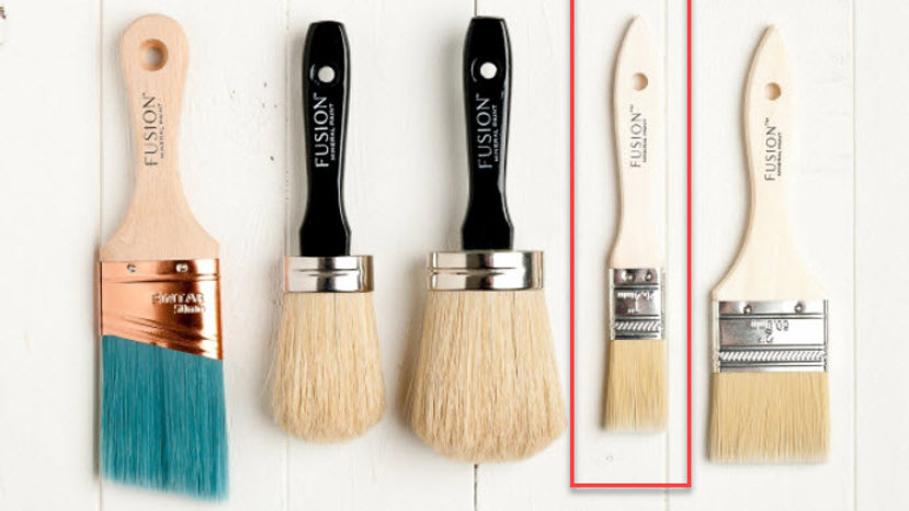 "1"" Synthetic Brush"